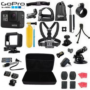 PACK CAMERA SPORT Caméra GoPro Hero7 Black Full Pack Accessoires Win