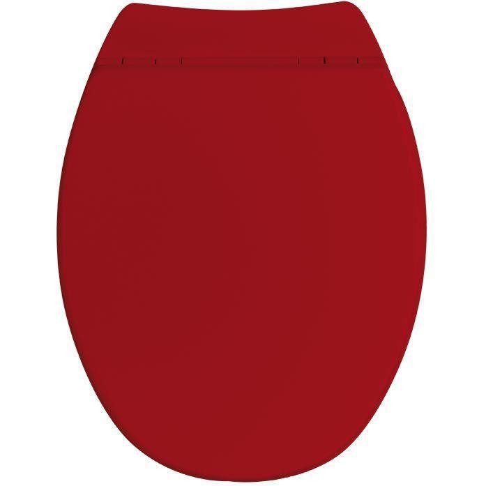 Abattant WC Sérénity 2 - bois compressé - rouge