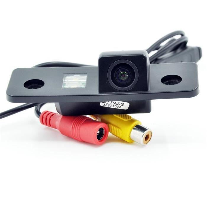 HD CCD Caméra de recul Caméra de recul Caméra caméra de sauvegarde caméra pour VW Skoda Octavia caméra imperméable à vision nocturne