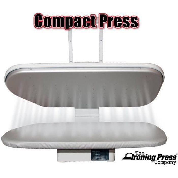 Presse à Repasser à Vapeur - Taille Compacte (55cm x 22cm, 1.350watt) pour un Repassage Rapide + de Nombreux Accessoires!