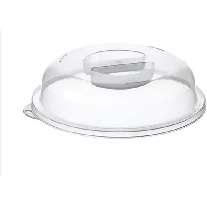 Couvercle Pour Micro-ondes en Plastique Cloche Pour Micro-Ondes Couvercle de Protection Contre &Eacuteclaboussures de Micro-ond595