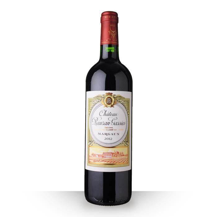 Château Rauzan-Gassies 2012 Rouge 75cl AOC Margaux - Vin Rouge