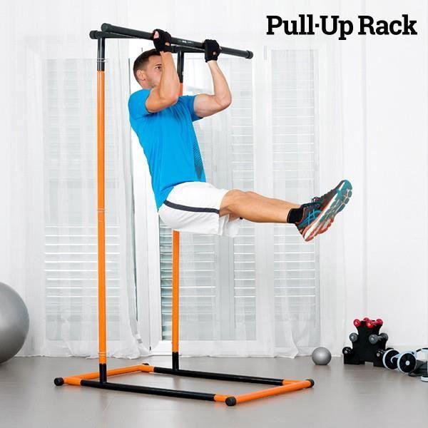 Station de Traction et de Fitness avec Guide d'Exercices Pull.Up Rack