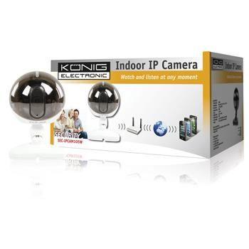 Caméra IP Wifi intérieur Konig - Vision nocturn…