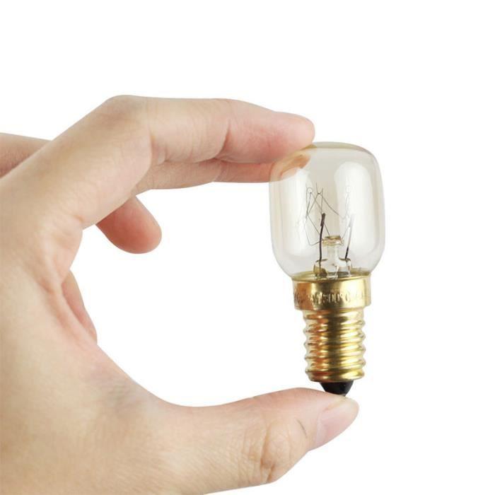 ampoules four 220v E14 300 degrés ampoule cuisinière ampoule sel Douille en laiton 15W