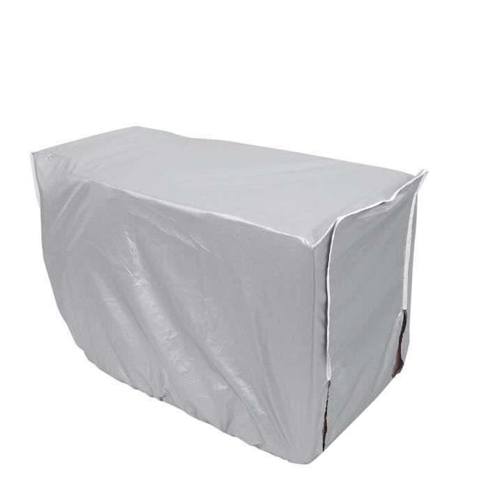 Couvercle du climatiseur extérieure imperméable anti-poussière anti-soleil anti-pluie pour la maison(n ° 3)(94 * 40 * 73cm)---RAC