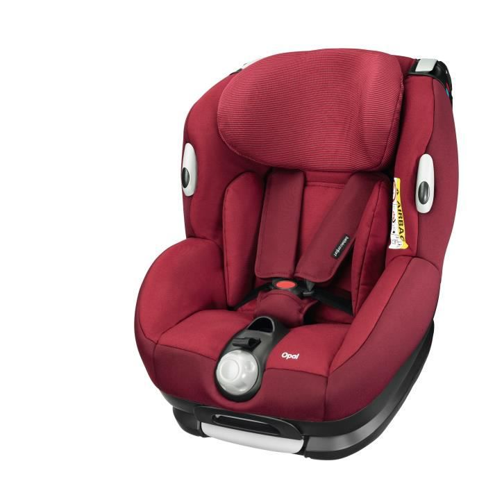 BEBE CONFORT Siège auto Opal Groupe 0+/1 - Robin Red