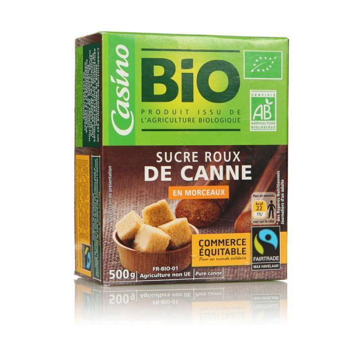 Sucre de Canne Bio 500g