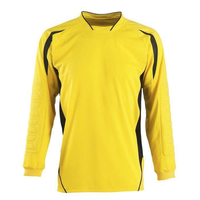 Maillot de foot pour gardien de but enfant 90209 - jaune