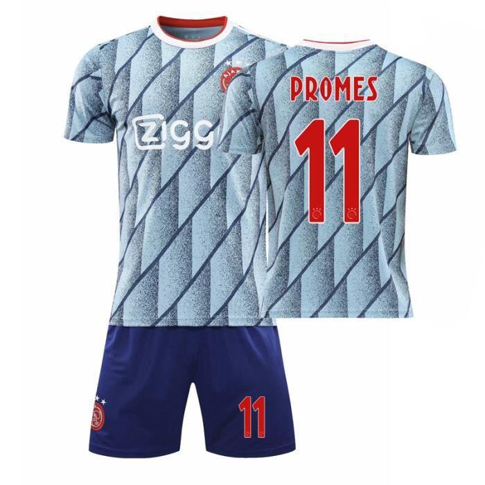 112820-21 Ajax Jersey Maillots de football personnalisés Maillots de sport Hommes Enfants Imprimés Match Team Jersey Home Away