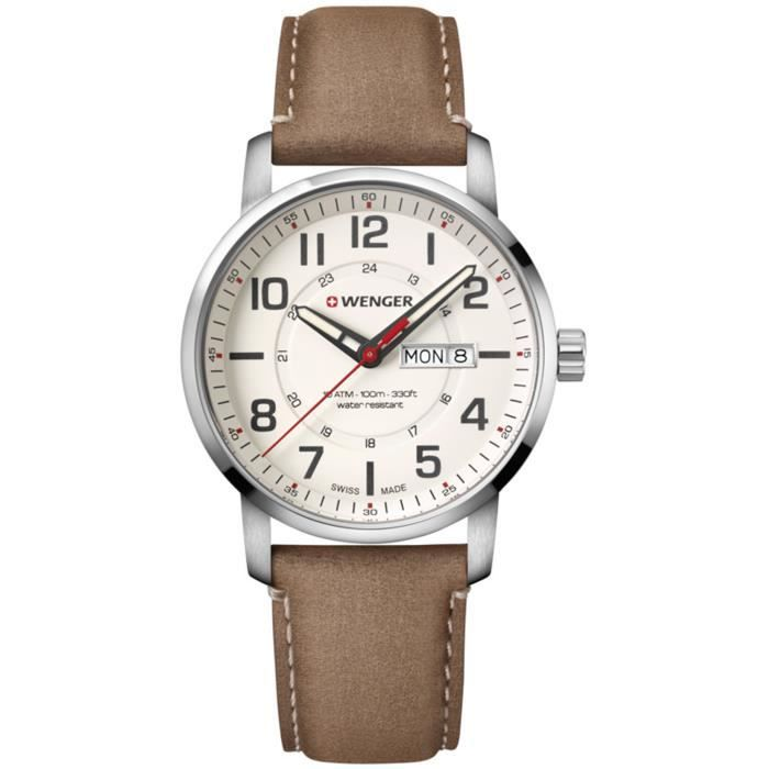 Montre homme WENGER ATTITUDE DAY&DATE 01.1541.103.
