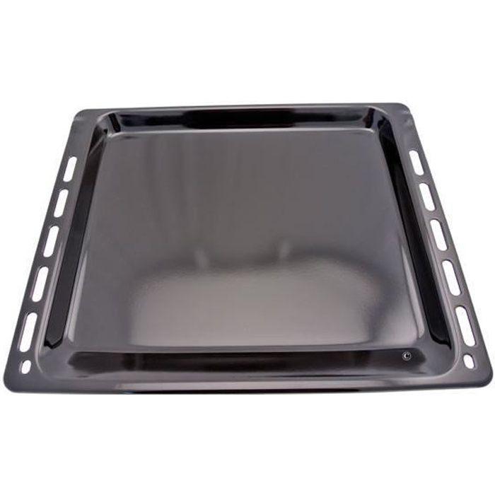 Leche frite / plaque patisserie en metal 448x378mm pour Fours - Cuisin