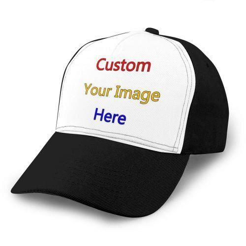 custom hats-Taille unique -Casquette de Baseball pour hommes et femmes, ajustable, de luxe, unisexe, à la mode, personnalisée, style