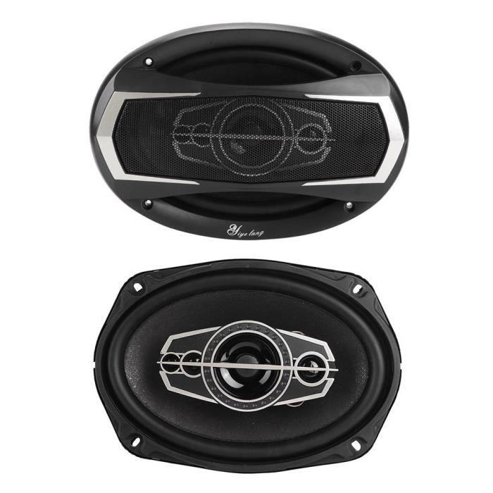 HAUT PARLEUR VOITURE LANQI YL-6998B 1 Paire Haut-parleur Coaxial Audio