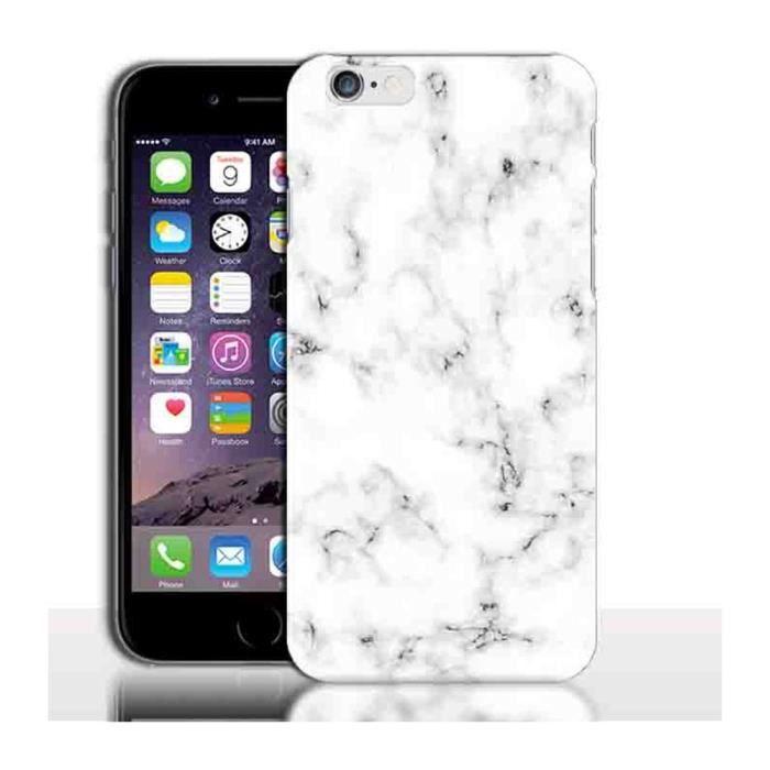 coque d iphone 6 6s marbre blanc coque telephon
