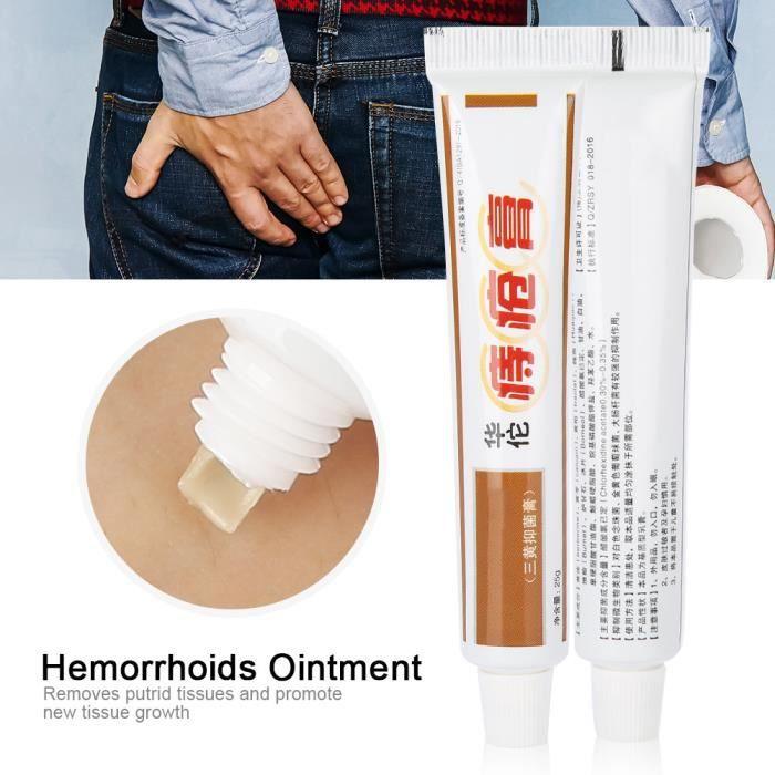 REPOUSSE CUTICULES Crème pour éliminer les hémorroides, 25g de pommad