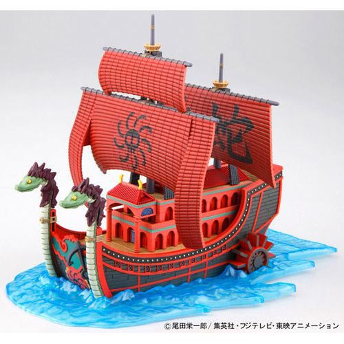 one piece maquette nine snake boa hancock grandl achat vente maquette de bateau cdiscount. Black Bedroom Furniture Sets. Home Design Ideas