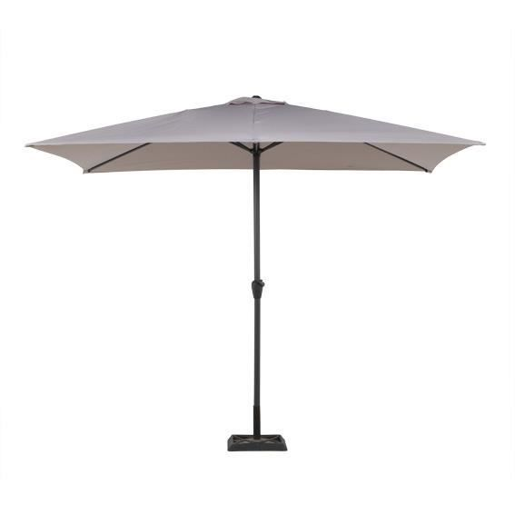parasol rectangulaire inclinable achat vente parasol. Black Bedroom Furniture Sets. Home Design Ideas