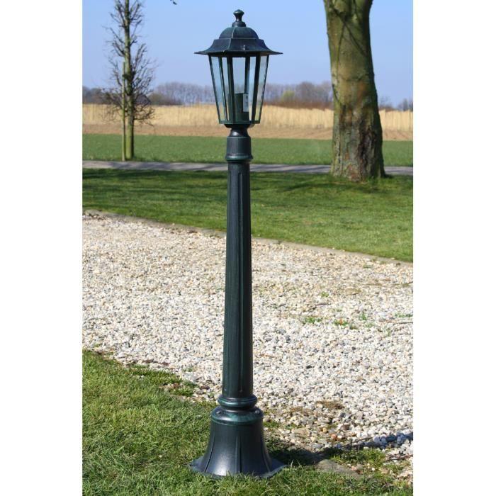 Acier inoxydable extérieur Lampe socle jardin Debout Lampe Cour entrée éclairage capteur
