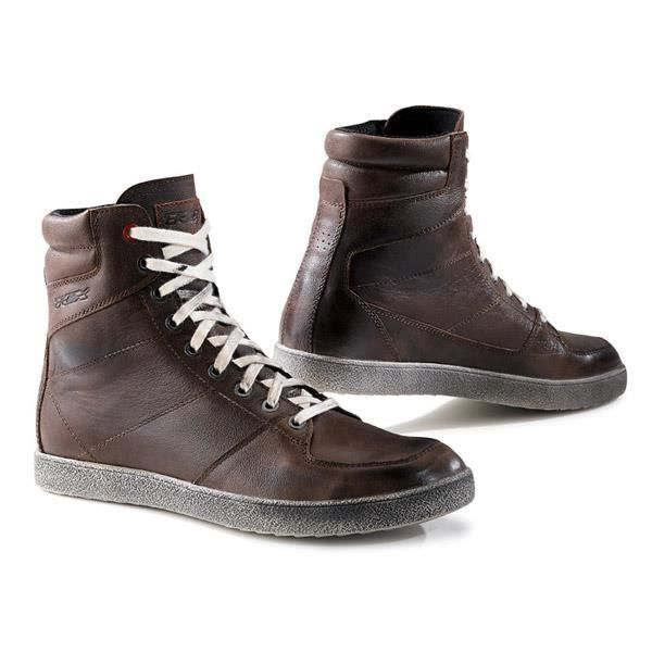 CHAUSSURE - BOTTE TCX Baskets moto X Wave marron waterproof