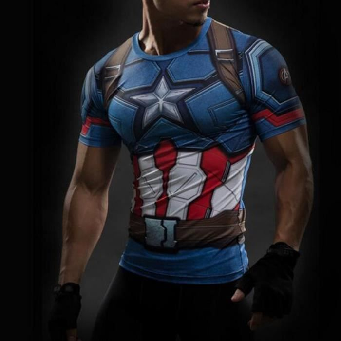 t shirt captain america civil war tee 3d printed t shirt. Black Bedroom Furniture Sets. Home Design Ideas