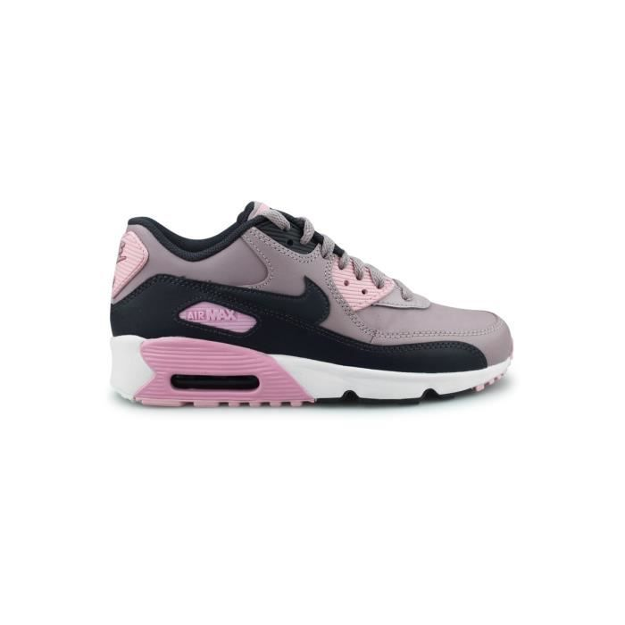 NIKE Baskets Air Max 90 Enfant GrisRose Achat Vente