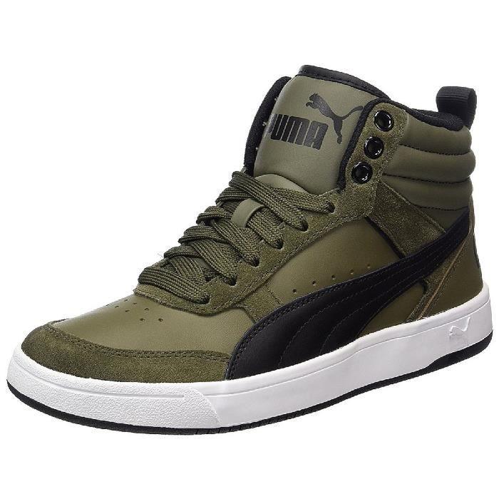 chaussures puma kaki homme