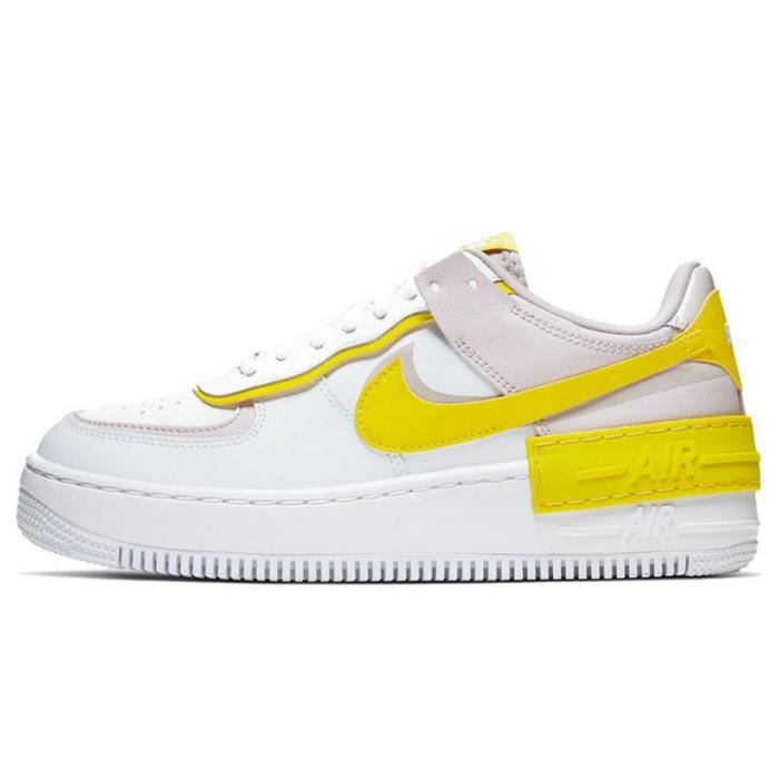 nike air force 1 shadow jaune