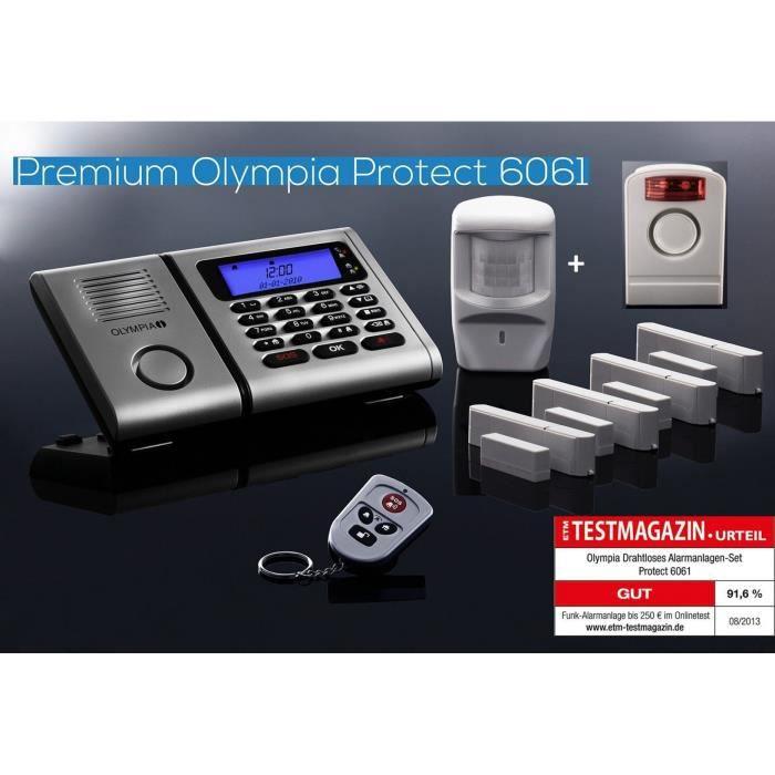 Olympia 5910 D/étecteur dintrusion pour portes//fen/êtres pour syst/ème dalarme Protect