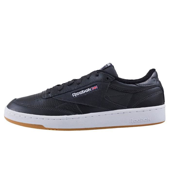 Reebok Club C 85 Estl Hommes Baskets charbon - 8 UK