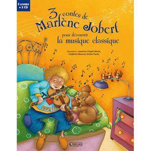 Livre 3-6 ANS 3 contes de Marlène Jobert pour découvrir la musiq