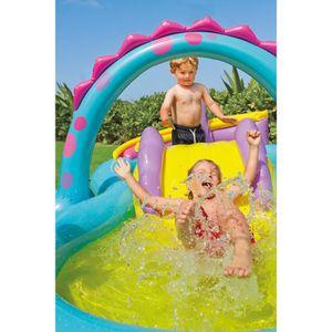 AIRE DE JEUX GONFLABLE Intex 57135 Dinoland Play Center piscine gonflable