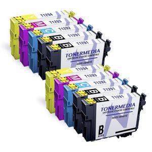 PACK CARTOUCHES TONERMEDIA - x10 Cartouches pour Epson T1291 T1292