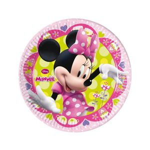 ASSIETTE JETABLE Assiettes minnie (x8)