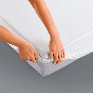 PROTÈGE MATELAS  Protège matelas imperméable - Bonnet 25 cm - 180 x
