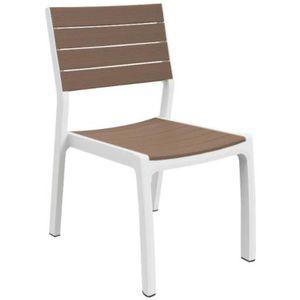 chaise de jardin en résine harmony