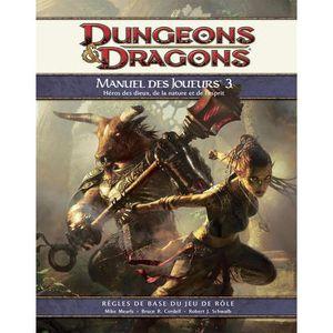JEU SOCIÉTÉ - PLATEAU Dungeons & Dragons 4.0 : Manuel des Joueurs 3