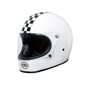 CASQUE MOTO SCOOTER PREMIER CASQUE INTEGRAL TROPHY CK BLANC XL Blanc