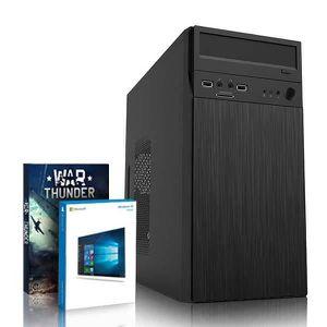 UNITÉ CENTRALE  VIBOX Tower 13 PC Gamer Ordinateur avec War Thunde