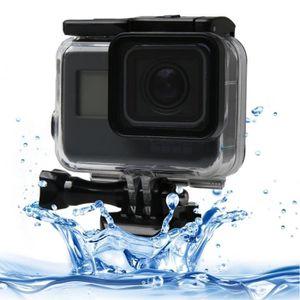 CAISSON ÉTANCHE Pour GoPro HERO6 / 5 noir Écran Tactile 60m Sous-M
