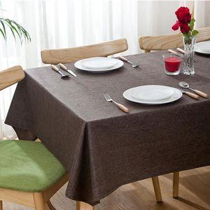Nappe De Table Coureur tache protégés de nombreuses tailles 161//Blanc
