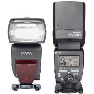 FLASH Yongnuo YN660 2.4G sans fil flash Speedlite maître