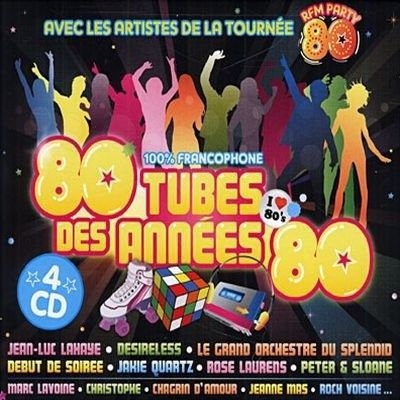 COMPILATION 80 TUBES DES ANNEES 80 (4CD)