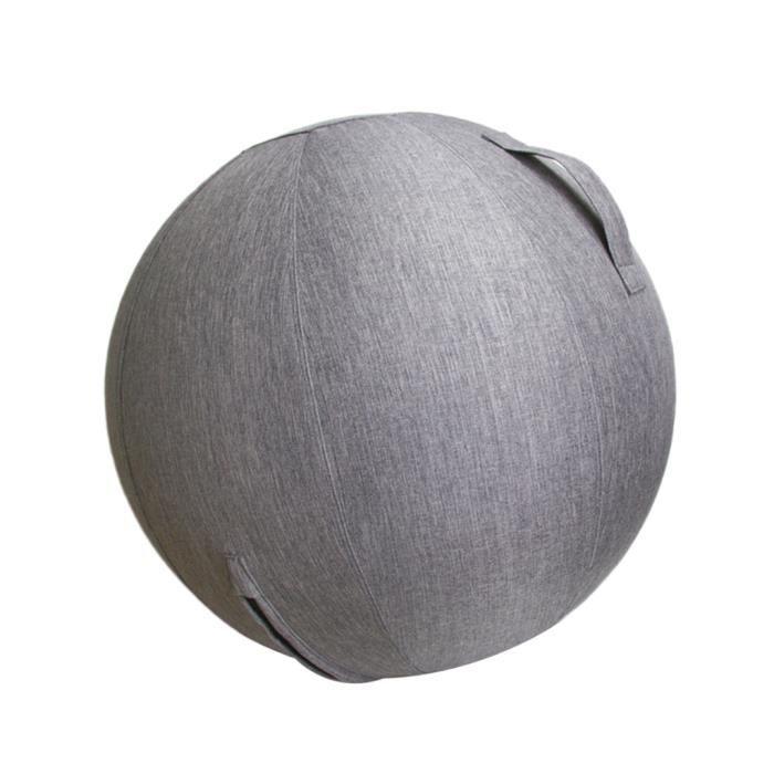60 / 65cm Couvercle De Ballon D'exercice Pour Yoga Pilates Gym Ball Home Decor 65cm