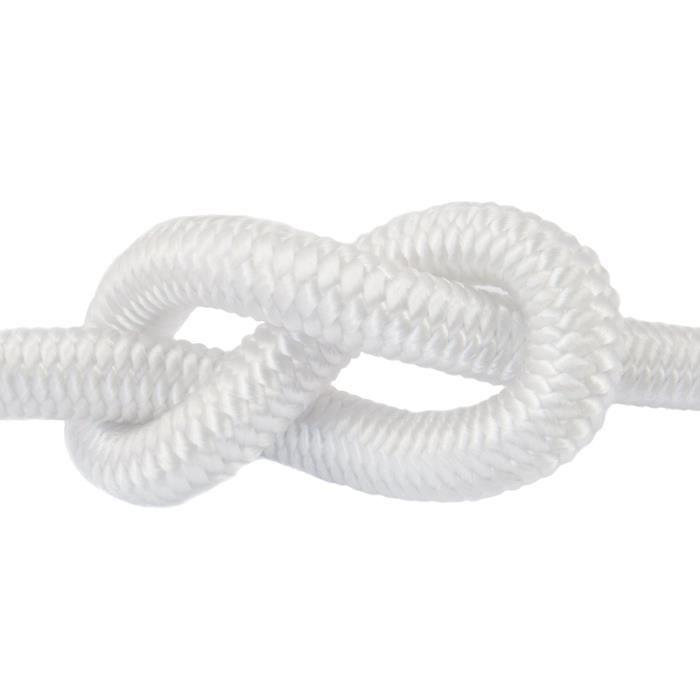 25m corde élastique câble 4mm blanc - plusieurs tailles et couleurs