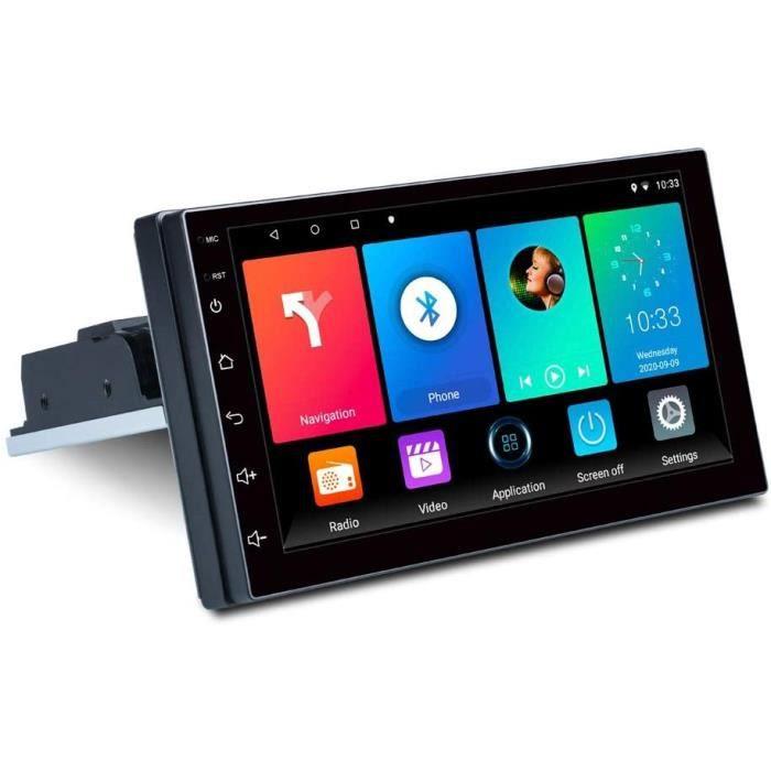 7 Pouces 1DIN Android 9.1 Autoradio StéRéO Quad Core MultiméDia RéGlable Lecteur MP5 WiFi MirrorLink GPS[379]