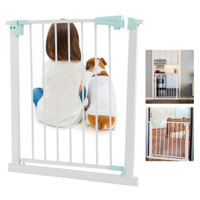 Barrière de sécurité pour animaux de compagnie Clôture de Porte de Sécurité Animaux de Compagnie Enfants pour Escalier HB067 -KOR