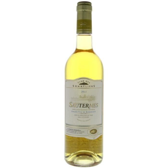SAUTERNES Cuvée Spéciale Vin de Bordeaux - Blanc - 75 cl