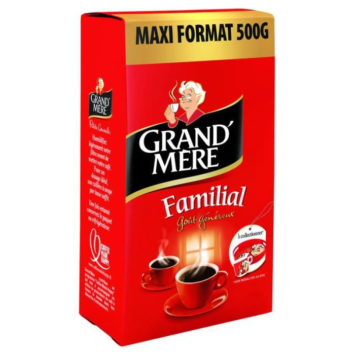 GRAND'MERE Familial Café moulu - 500g