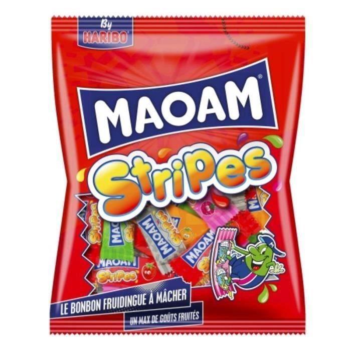 HARIBO Bonbons tendres Maoam Stripes multipack - 250 g